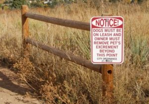 Mesa Trail marker