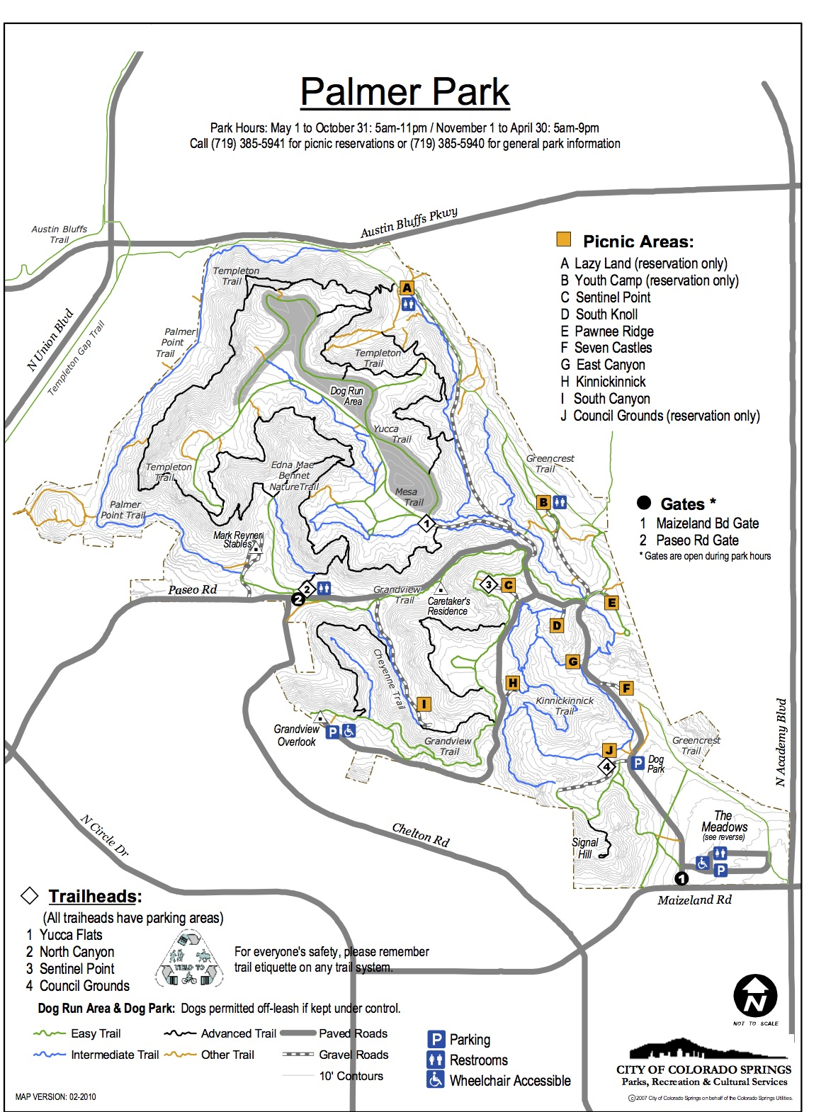 download map. trail map – go palmer park